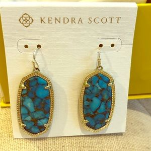 Kendra Scott Elle earrings in Torquoise